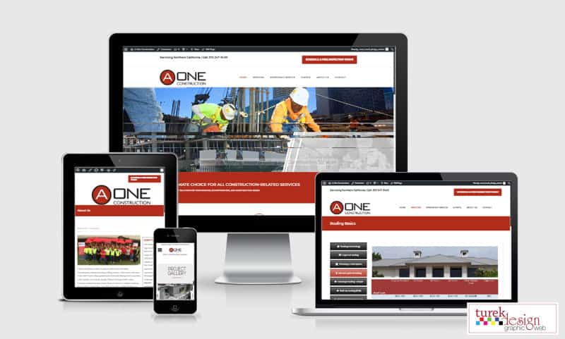 Web design services - Turek Web Design - Website design with SEO focus